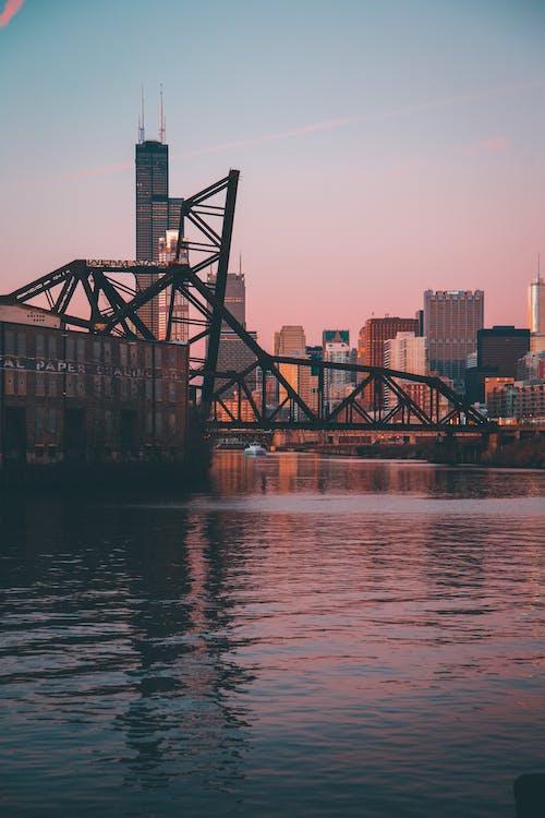 acqua, alto, architettura