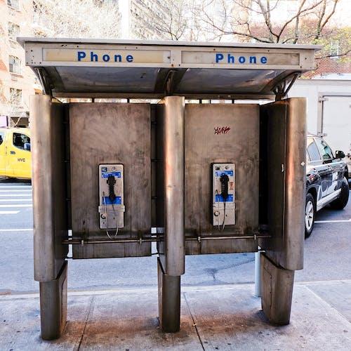 Kostenloses Stock Foto zu alt, nyc, telefone