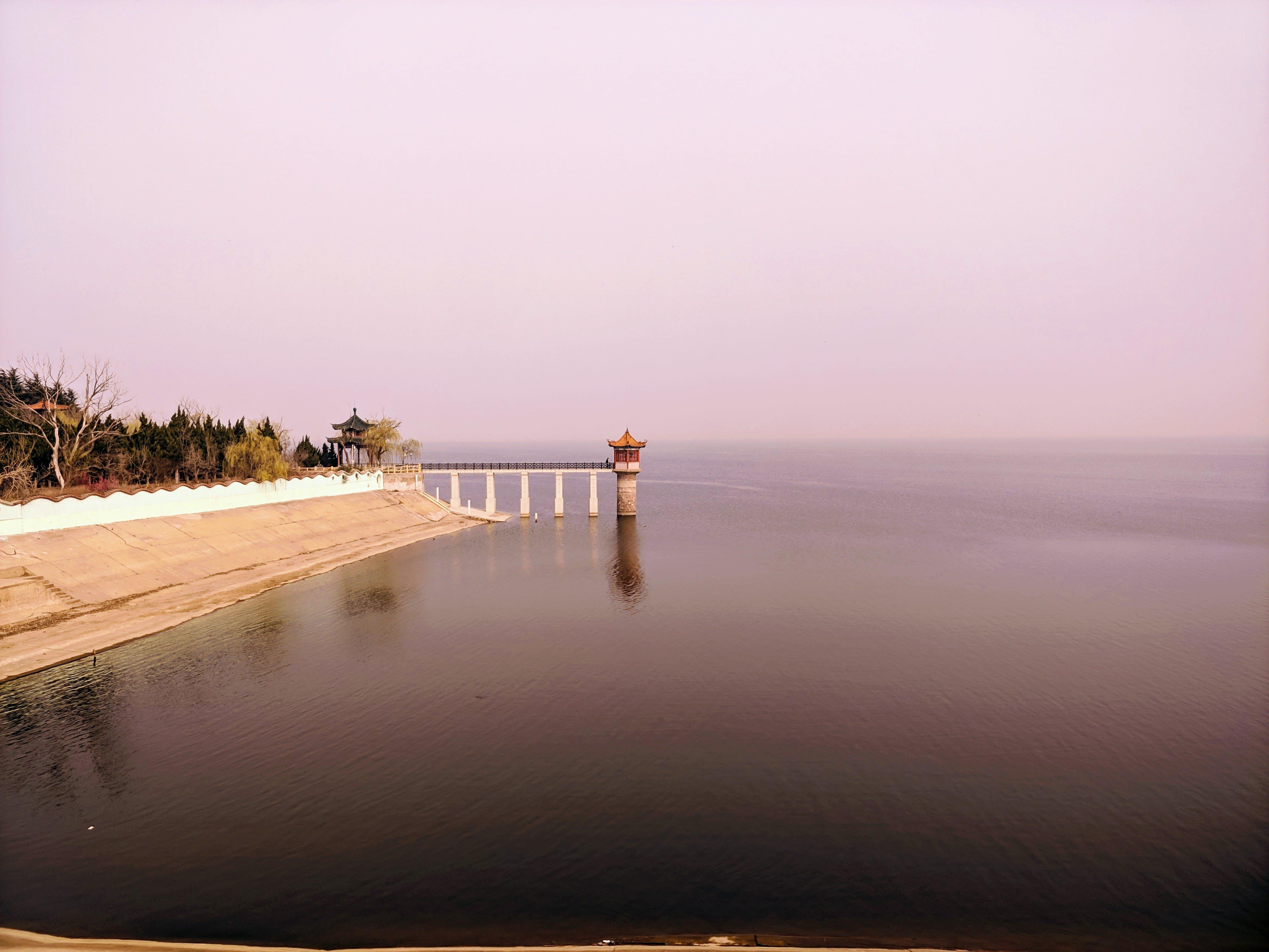 Kostenloses Stock Foto zu brücke, draußen, himmel, horizont