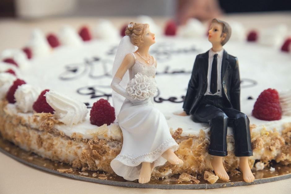 bride, cake, ceremony