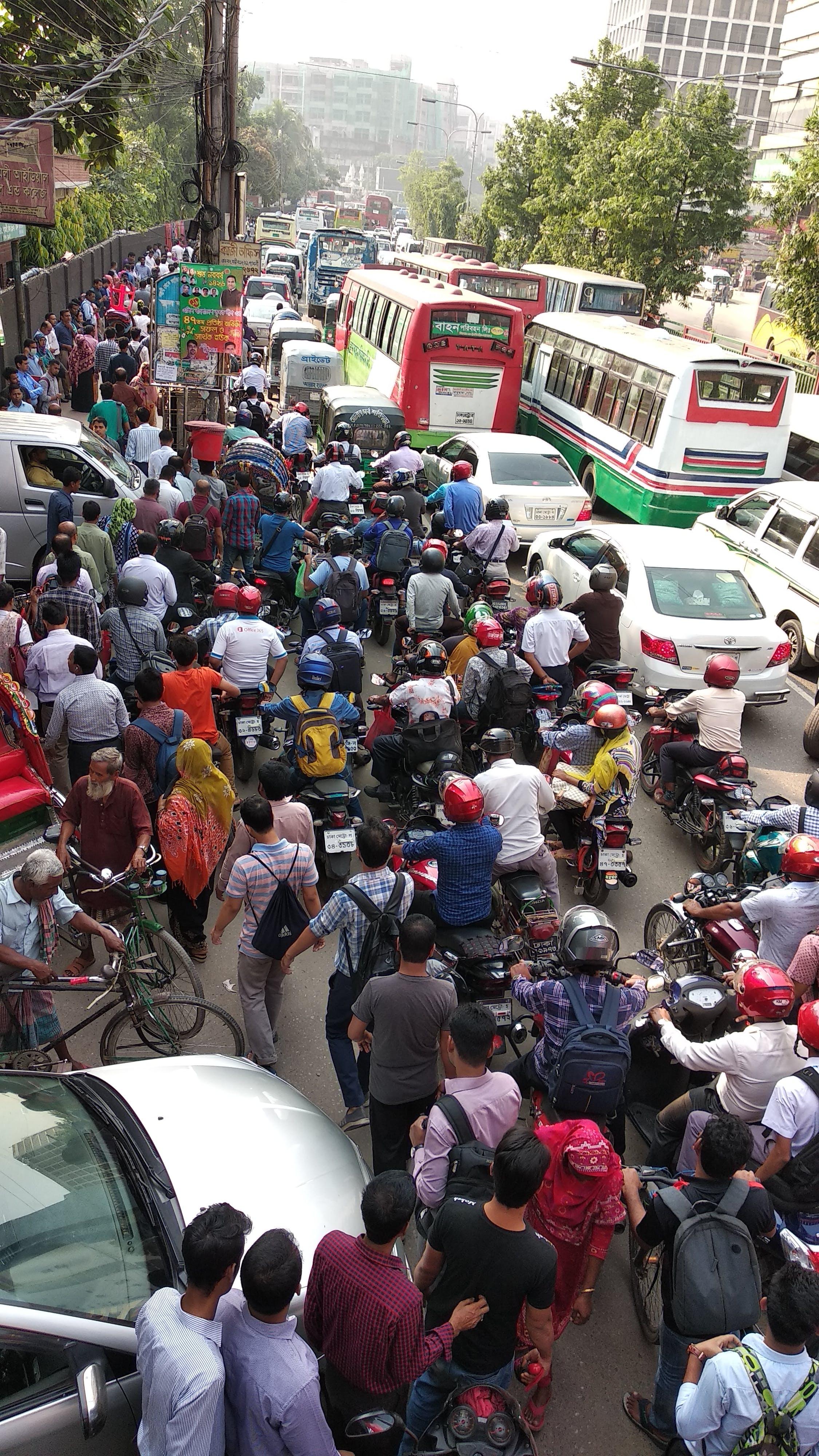 Free stock photo of traffic jam