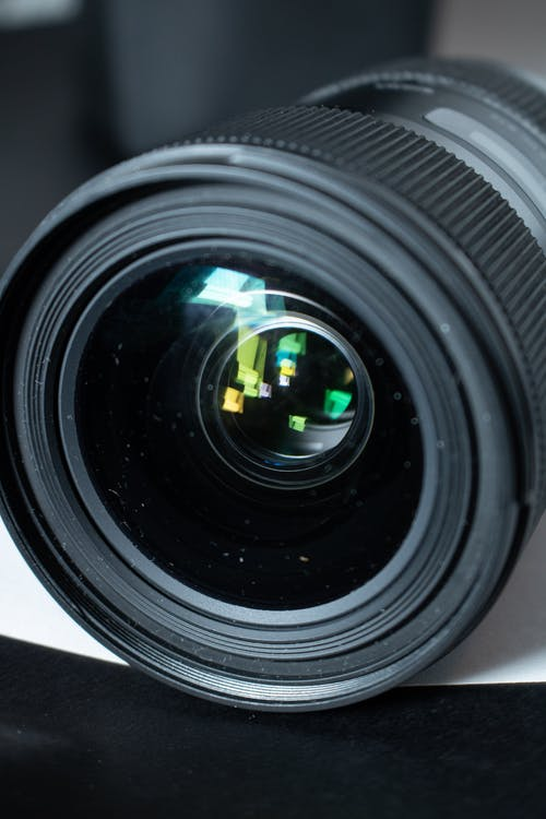 Black Dslr Camera Zoom Lens