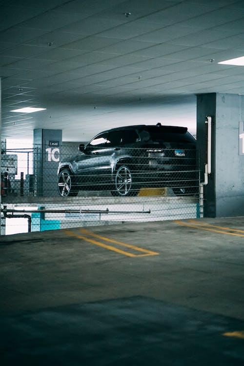 Black Car on Garage