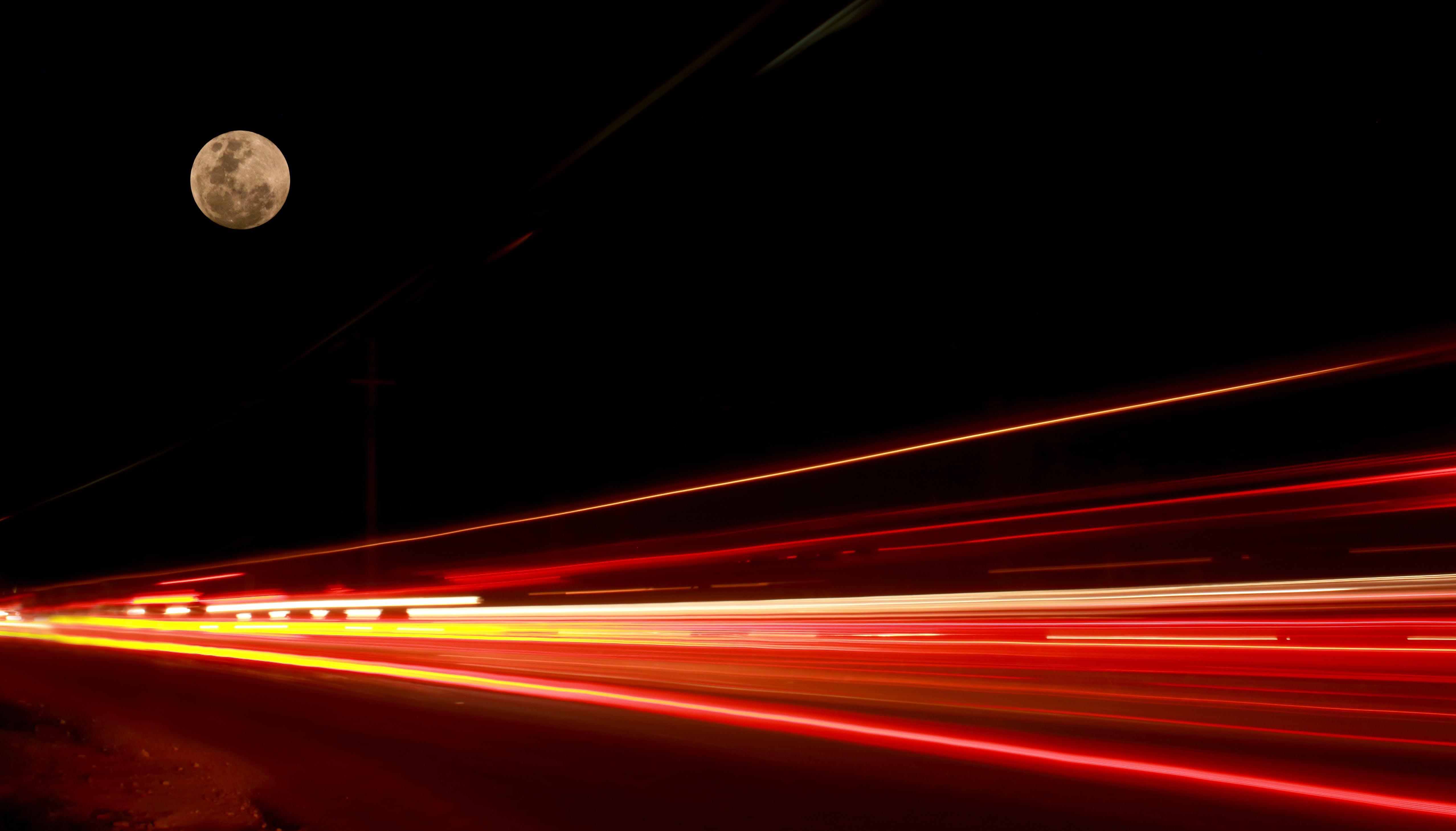 Δωρεάν στοκ φωτογραφιών με αργό κλείστρο, γρήγορος, διπλή έκθεση, δρόμος