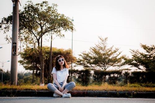 Free stock photo of #vietnamese, beach, golden sun, portrait