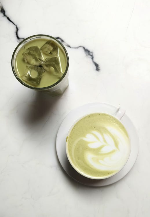 Cup Of Matcha Drink