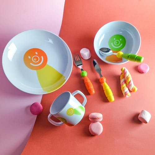 Colorful Kids Plates