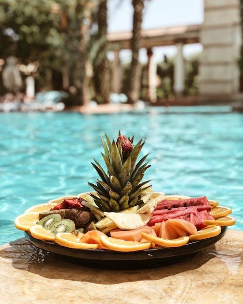 Foto d'estoc gratuïta de a trossos, deliciós, fruites, llescat