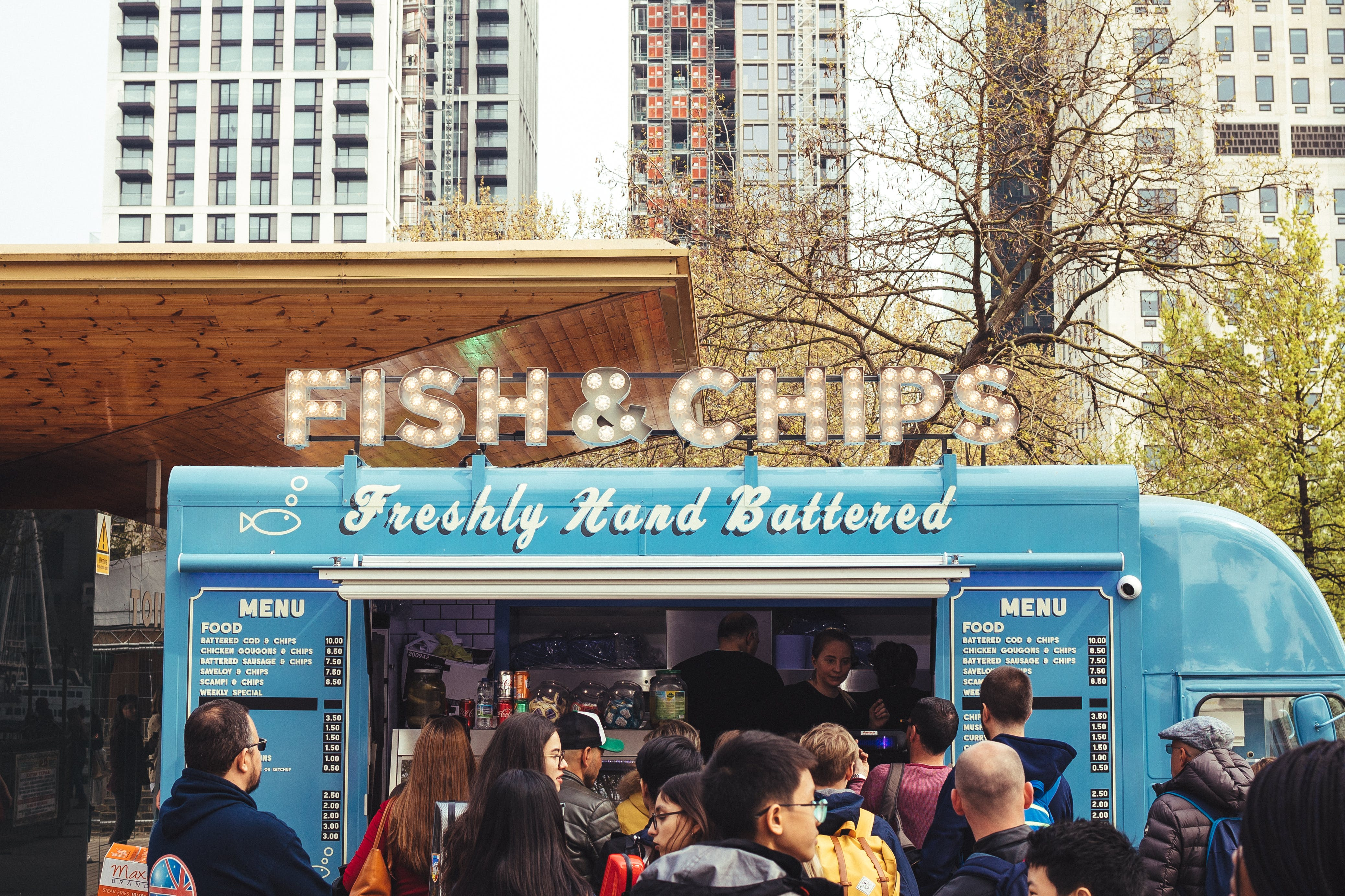 Blue Fish & Chips Food Truck