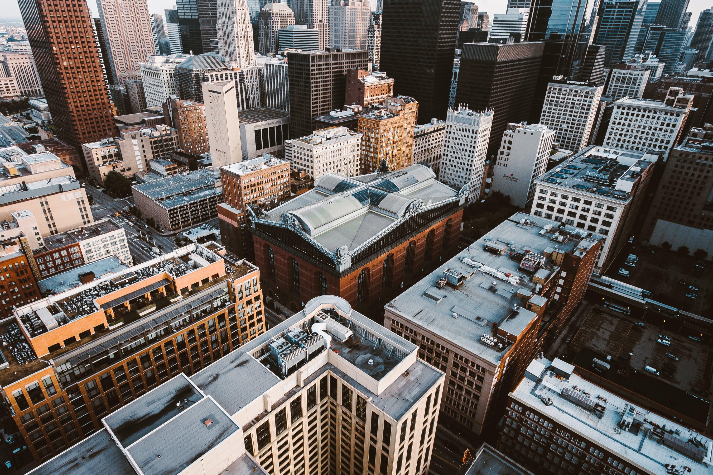 가장 높은, 건물, 건축 설계, 도시 풍경의 무료 스톡 사진