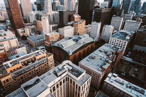 Základová fotografie zdarma na téma architektonický návrh, budovy, fotka zvysokého úhlu, letecký pohled