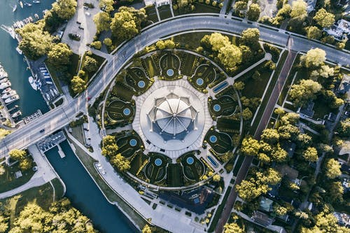 Aerial View Photography of Dome Building