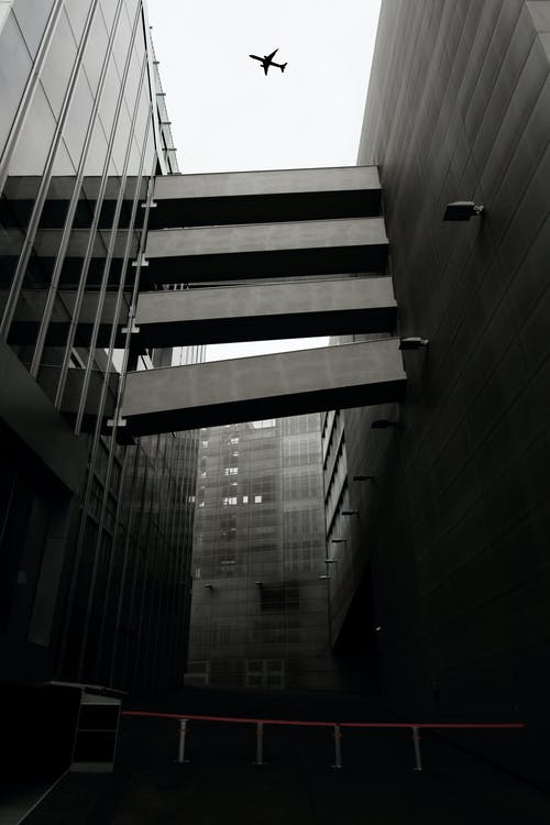 Architectural Photo of Gray Building