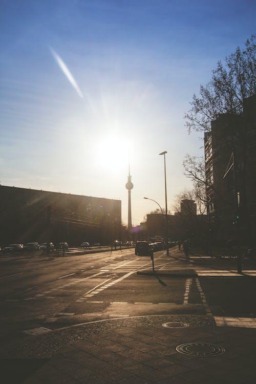 Ingyenes stockfotó berlin, berlini tévétorony, beton, csapás témában