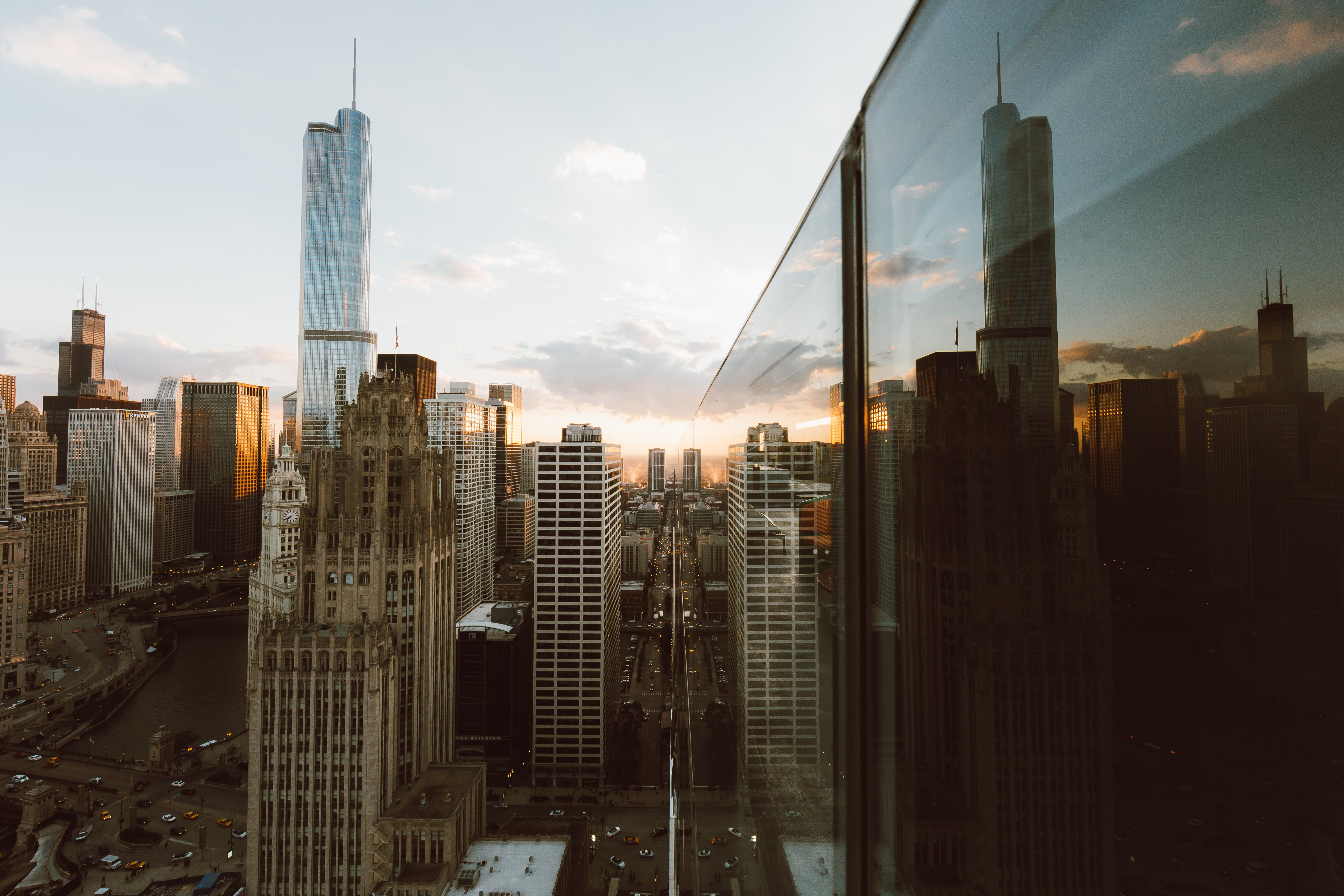 Kostnadsfri bild av arkitektur, byggnader, chicago, högsta