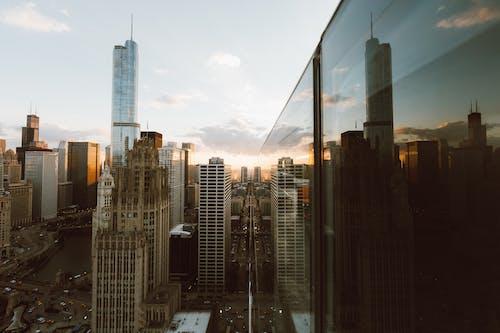Základová fotografie zdarma na téma architektura, budovy, chicago, město