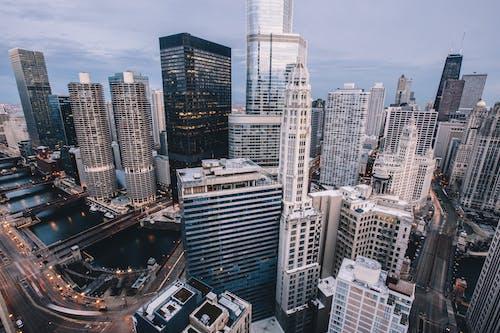 Základová fotografie zdarma na téma architektonický návrh, architektura, budovy, fotka zvysokého úhlu