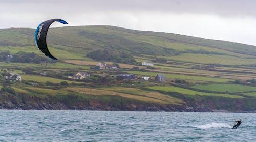 Fotobanka sbezplatnými fotkami na tému Írsko, windsurfing, znieť