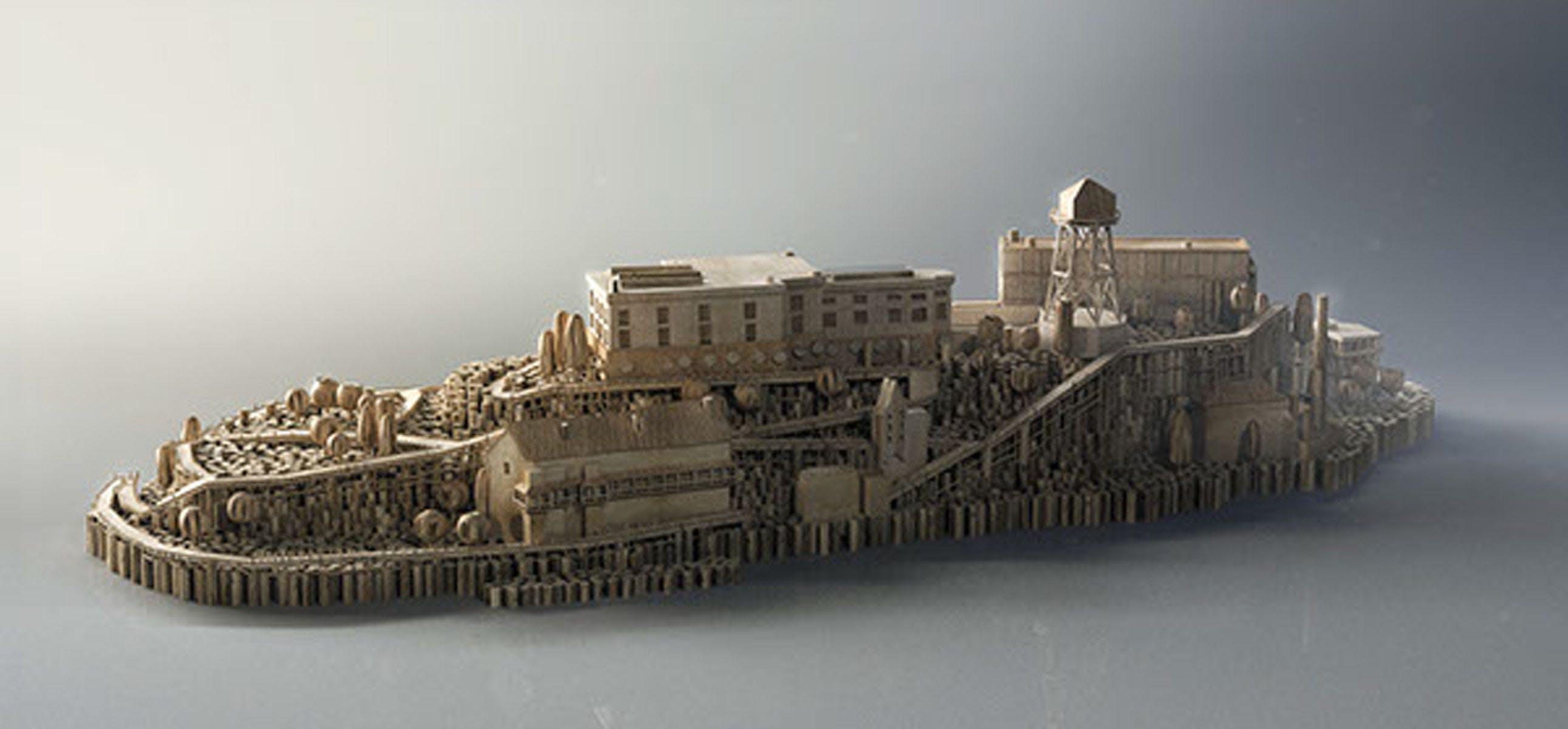 Free stock photo of wood city