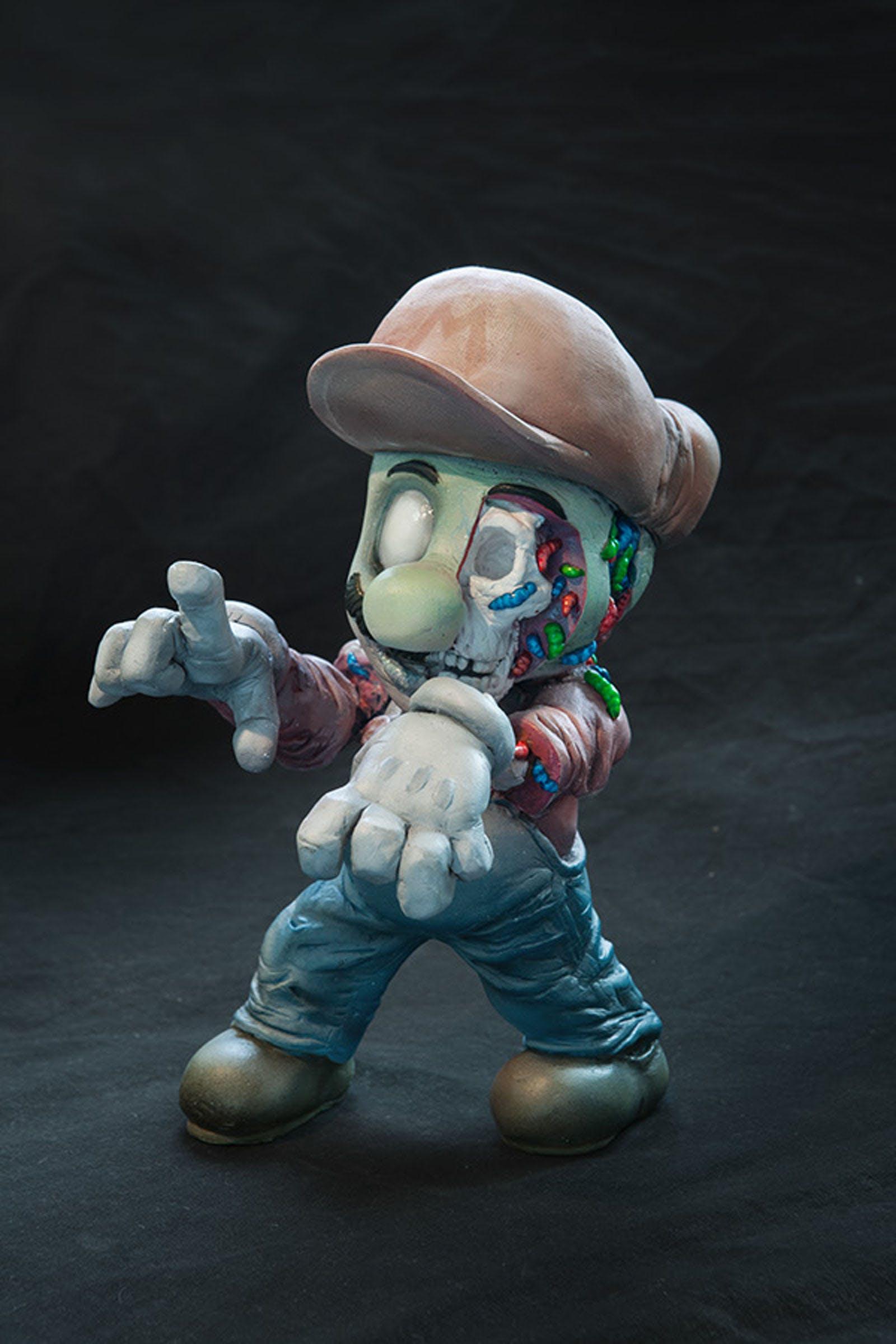 Free stock photo of supermario zombie