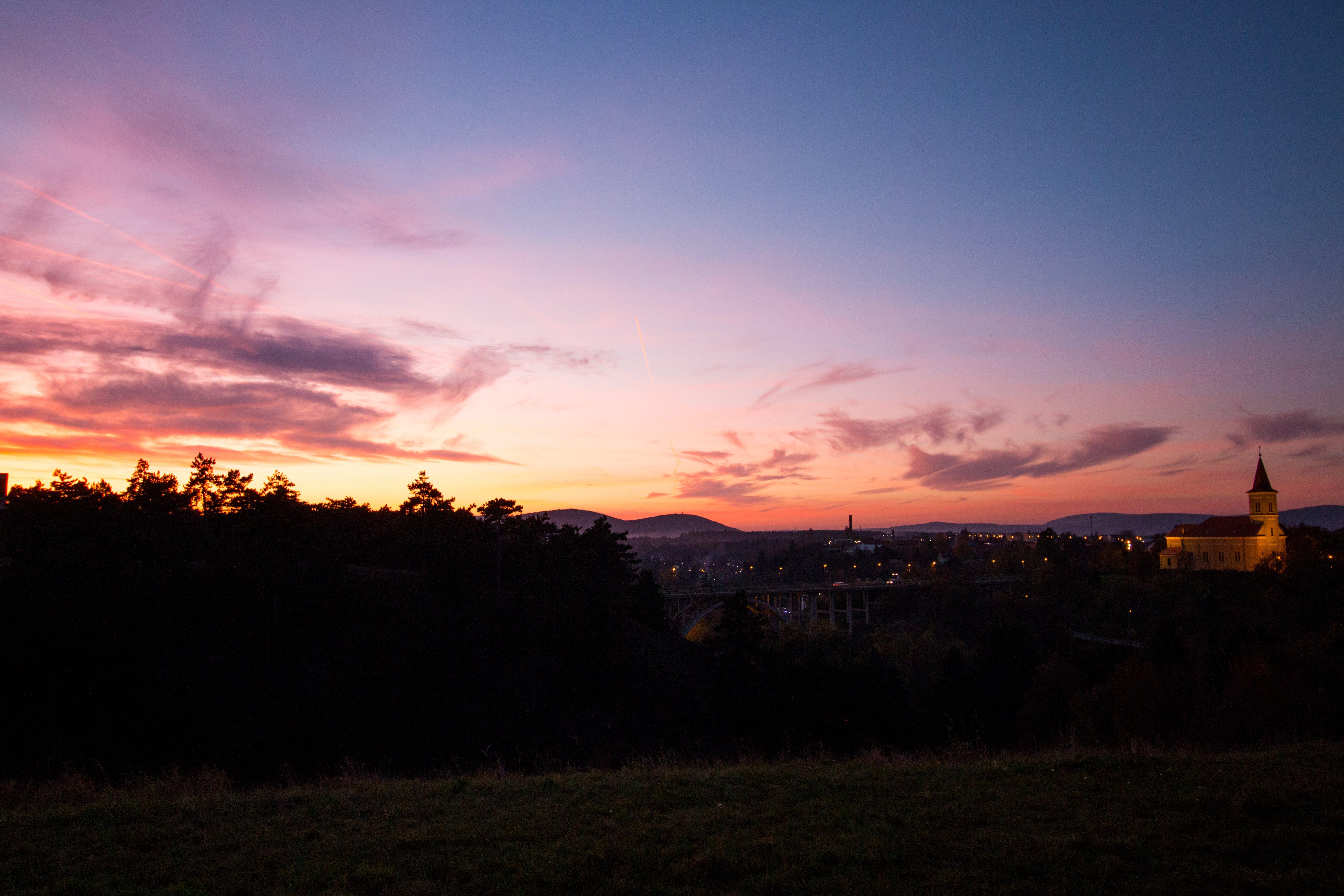 Sunrise of a Village