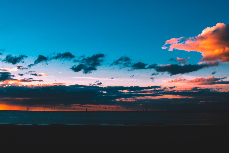 Foto d'estoc gratuïta de a l'aire lliure, aigua, capvespre, cel