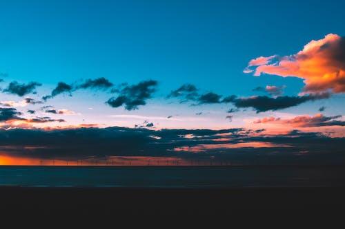 Darmowe zdjęcie z galerii z chmury, fale, horyzont, krajobraz