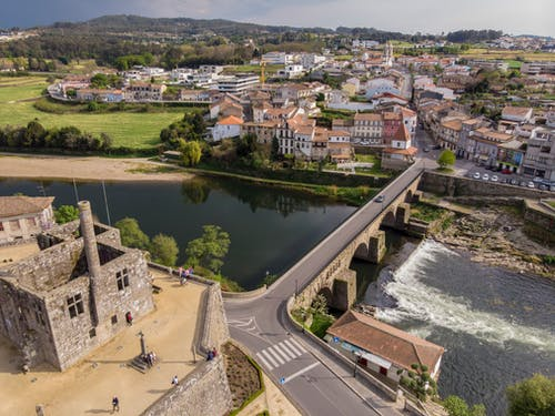 Immagine gratuita di #portugal #barcelos #bridge #ponte #castelo #river