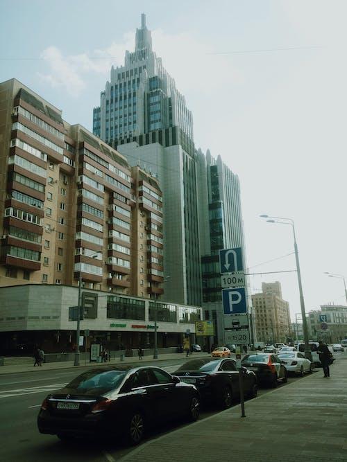 Foto d'estoc gratuïta de a l'aire lliure, alt, arquitectura, carrer