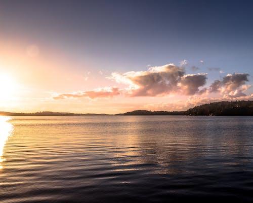 Gratis lagerfoto af naturudsigt, skyer, Smuk, solnedgang