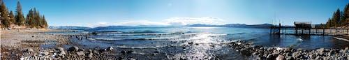 Бесплатное стоковое фото с береговая линия, вода, озеро, озеро тахо