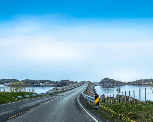 Gratis lagerfoto af atlantic, fantastisk, havvej, køretur