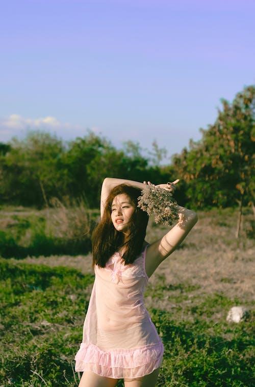 Foto d'estoc gratuïta de a l'aire lliure, asiàtica, bonic, bufó