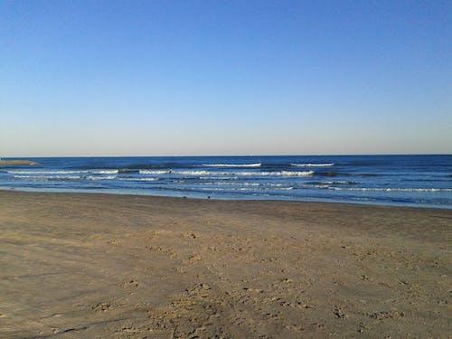 Free stock photo of beech, blue, ocean