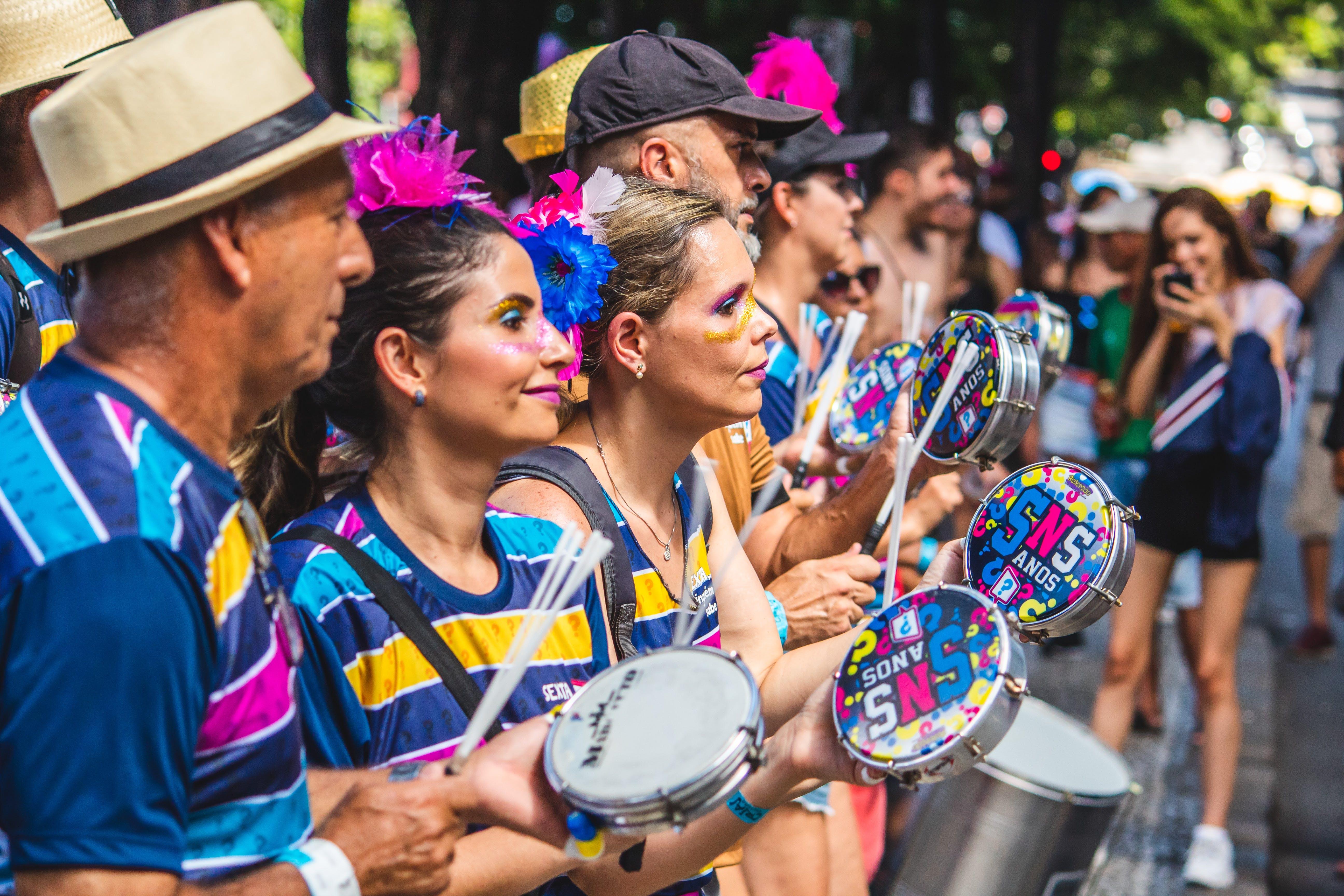 Kostenloses Stock Foto zu bunt, erwachsene, feier, festival