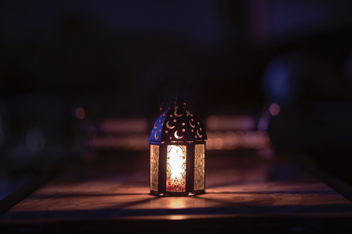 Turned-on Night Lamp
