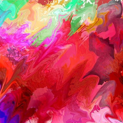 Kostnadsfri bild av abstrakt, abstrakt bakgrund, färg, färgstarka bakgrundsbilder