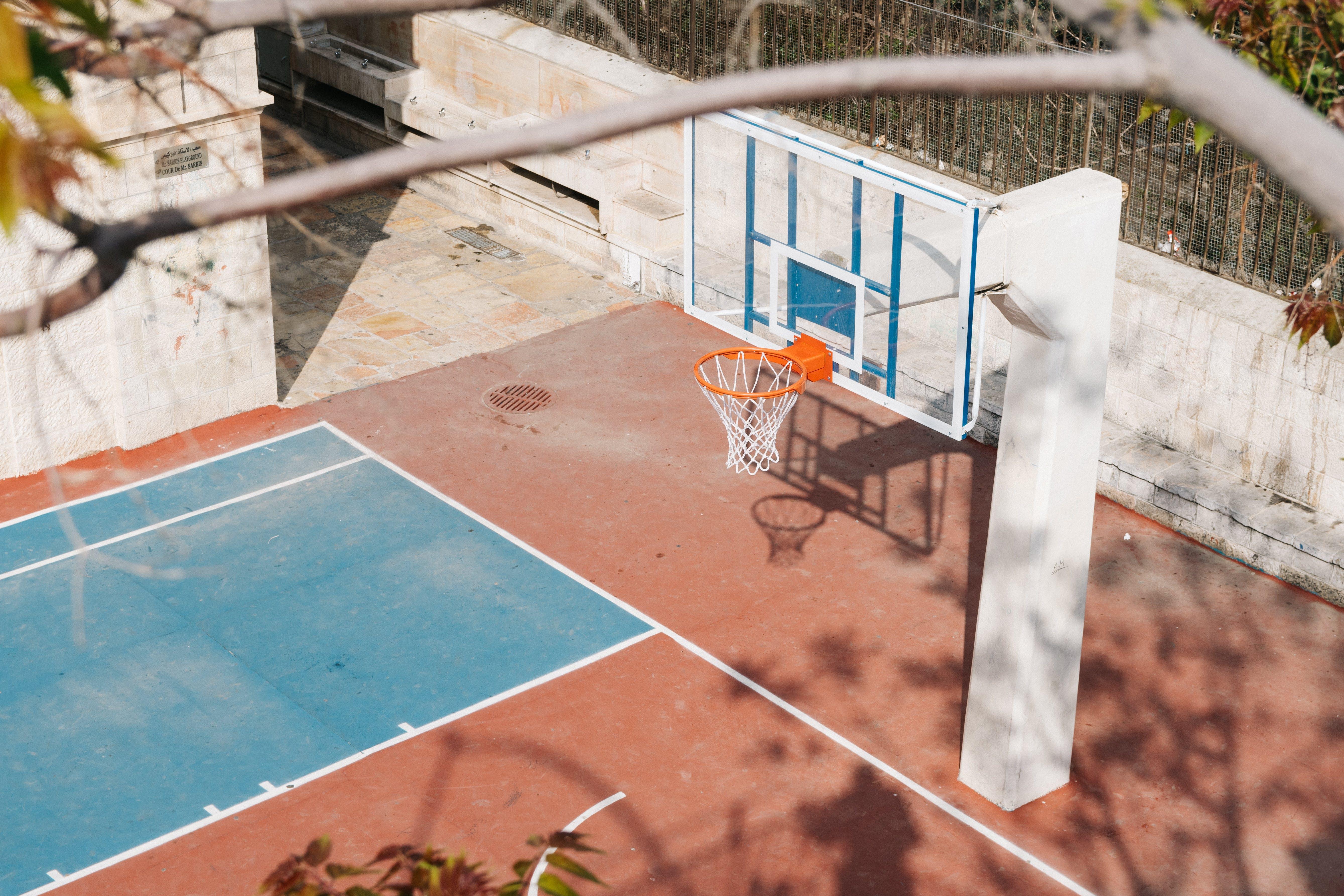 Kostenloses Stock Foto zu ast, basketball, basketball platz, basketball-ring