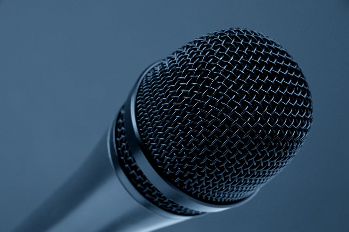 Close-up Photography of Black and Gray Condenser Microphone