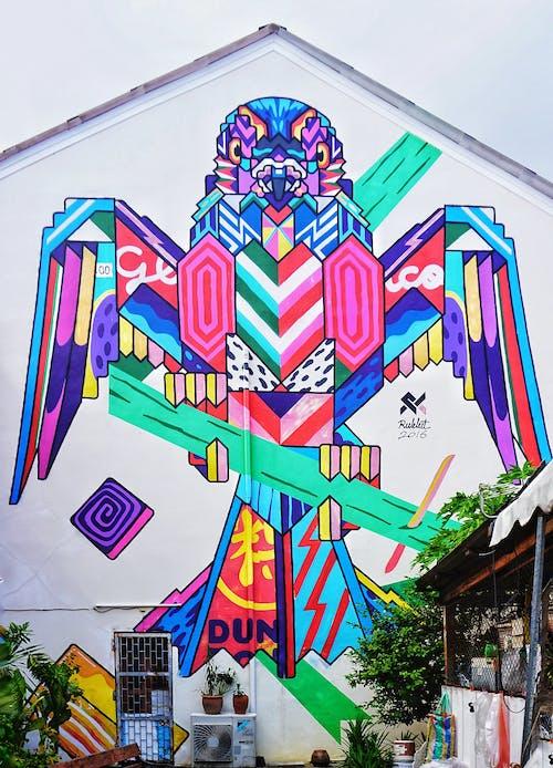Δωρεάν στοκ φωτογραφιών με phuket, street art, γκράφιτι, τείχος