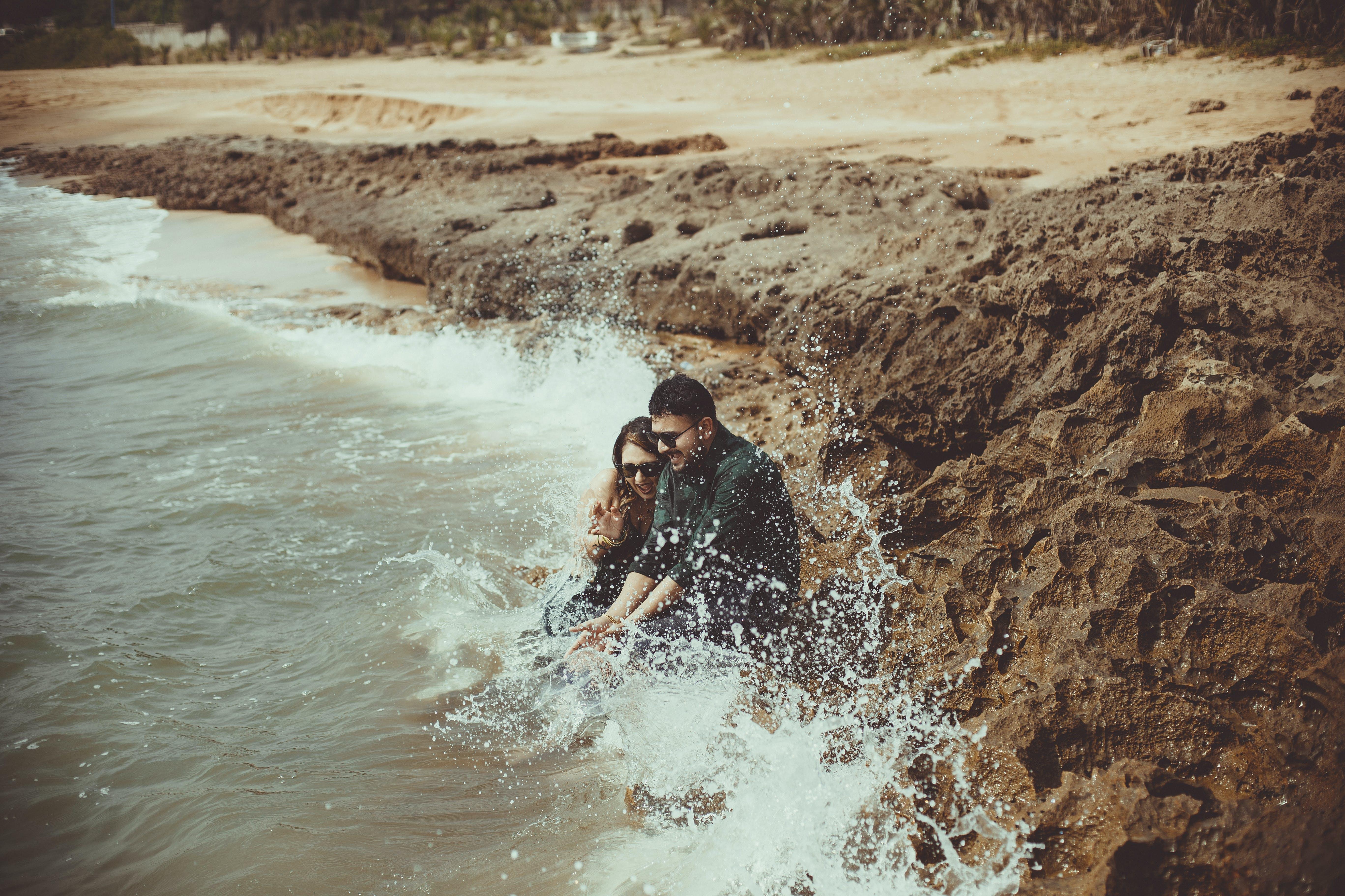 Ingyenes stockfotó emberek, Férfi, homok, időjárás témában