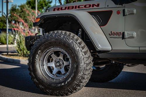 Grey Jeep Rubicon