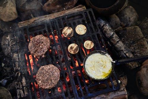 烤肉, 烹飪, 燒烤工具, 肉 的 免費圖庫相片