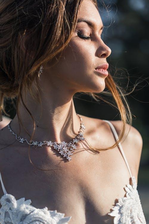 bride, jewellery, model