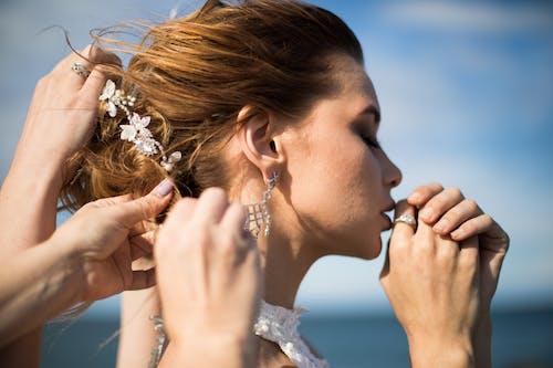 Imagine de stoc gratuită din adult, agrement, bijuterii, cercel
