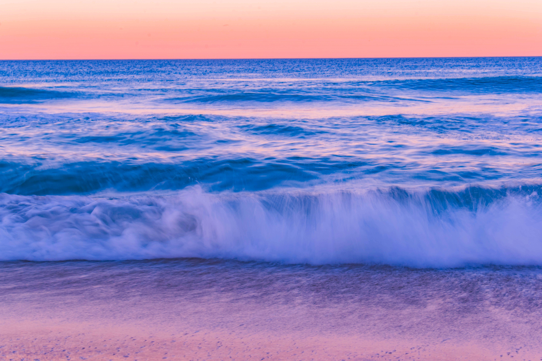 Ingyenes stockfotó alkonyat, hajnal, horizont, hullámok témában