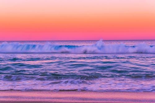 Kostnadsfri bild av bakgrundsbilder mac, gratis bakgrundsbild, gryning, hav