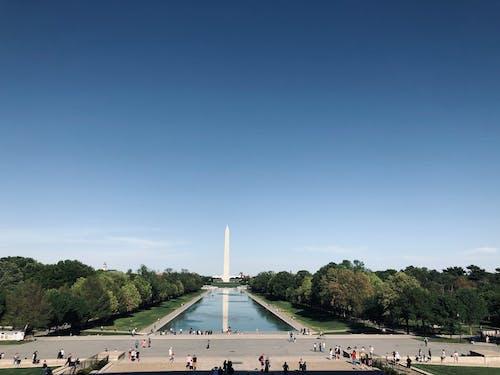 Photos gratuites de martin luther king, monument de washington, washington dc