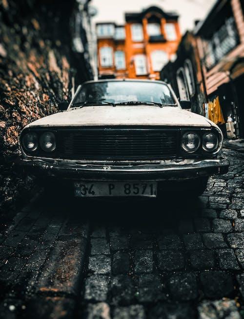 คลังภาพถ่ายฟรี ของ คลาสสิก, ถนน, พาหนะ, รถ