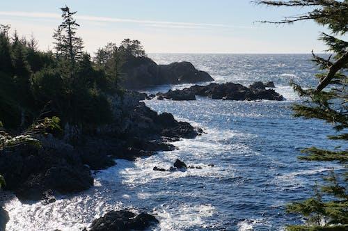 Foto d'estoc gratuïta de aigua de la costa de l'oceà